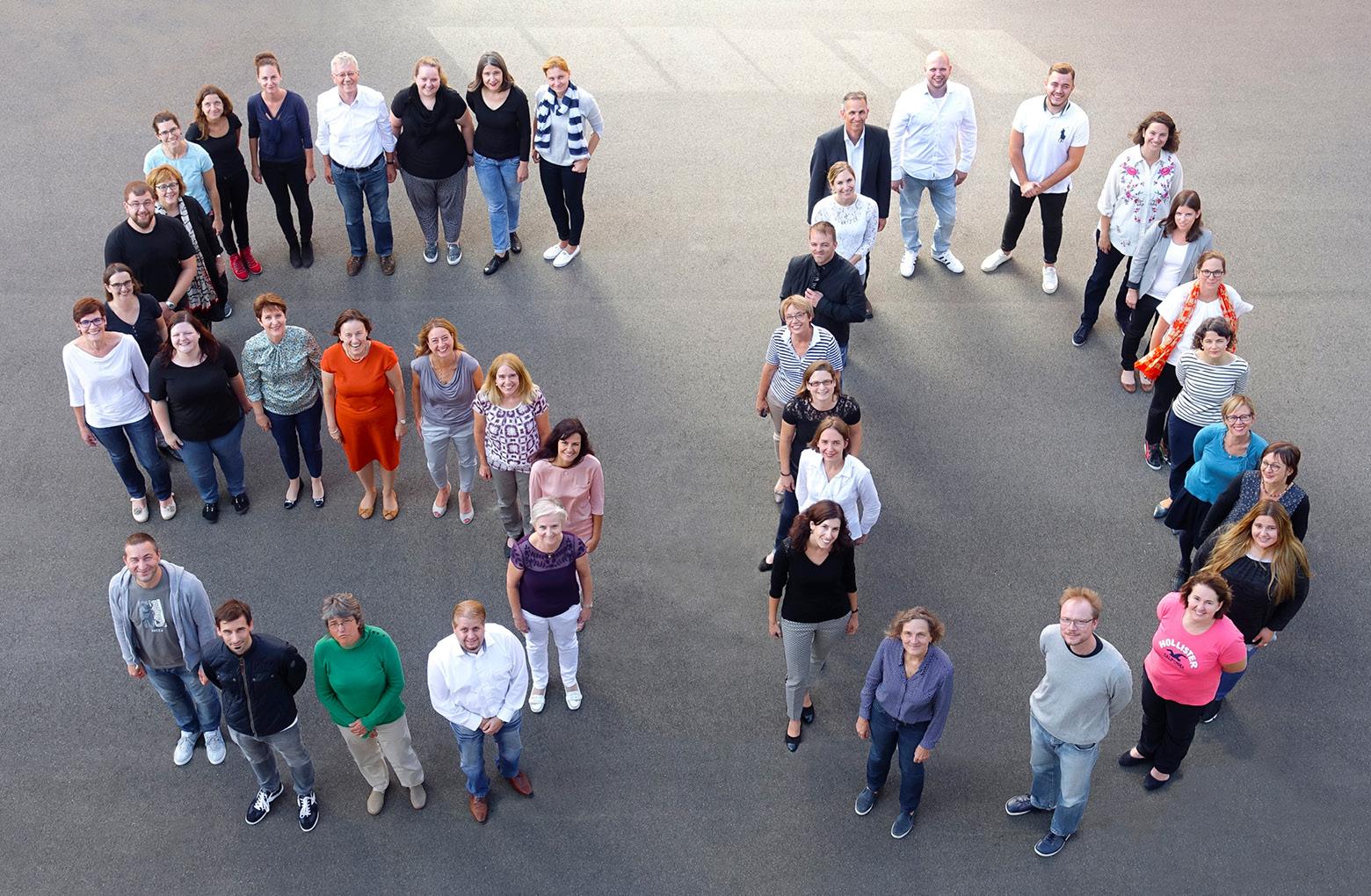 Gruppenbild 50 klett und balmer