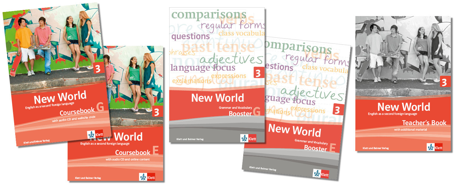 Teaser lehrwerksteile new world 3 5 klett und balmer