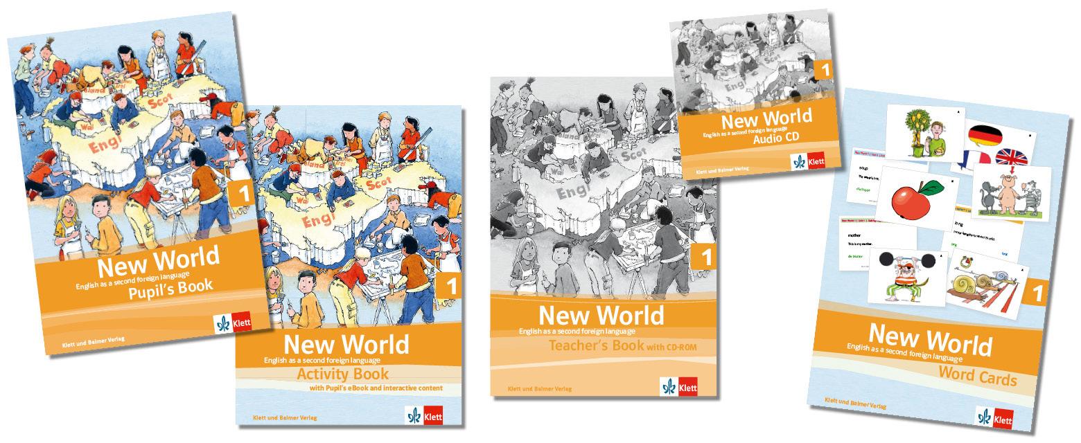 Teaser lehrwerksteile new world 1 2 klett und balmer