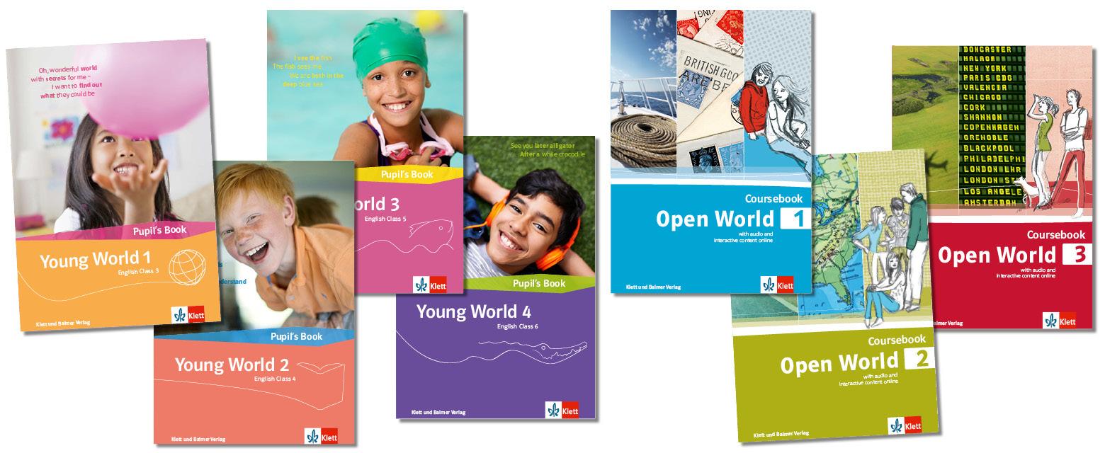 Teaser stufenuebergreifende lehrwerksteile young world open world neu klett und balmer